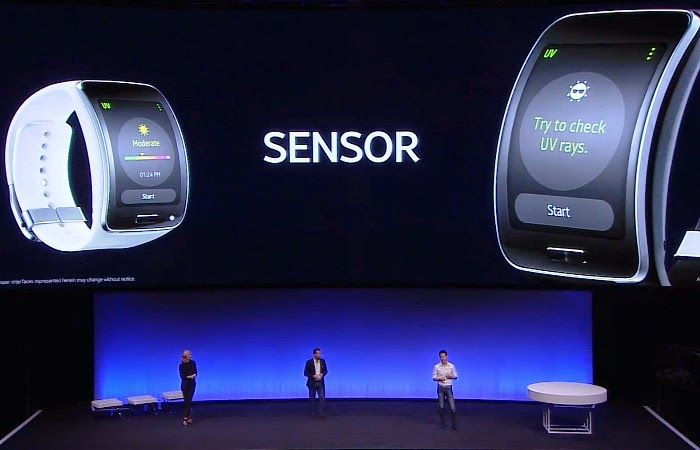 Samsung Gear S demo