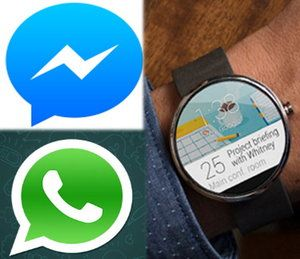 Whatsapp Wearable moto 360