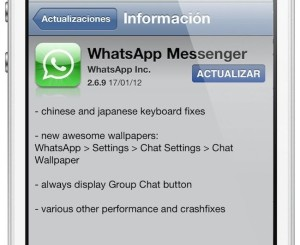 ultima version whatsapp