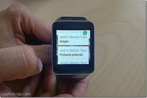 utilizar whatsapp smartwatch