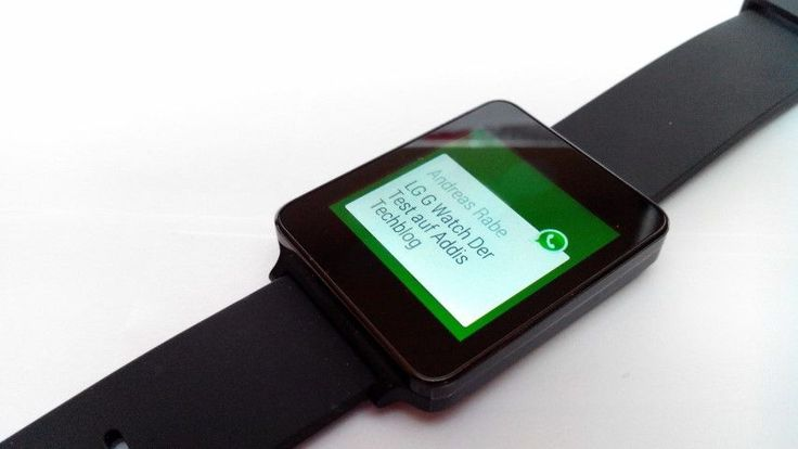 whatsapp smartwatch vista