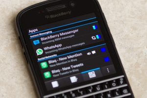 whatsapp y blackberry