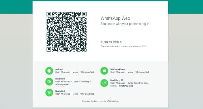 que es whatsapp web