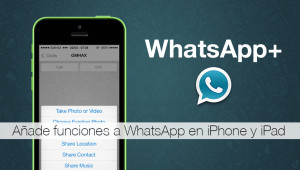 WhatsApp Plus en iOs