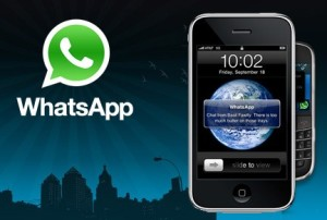 WhatsApp en un App en iOS